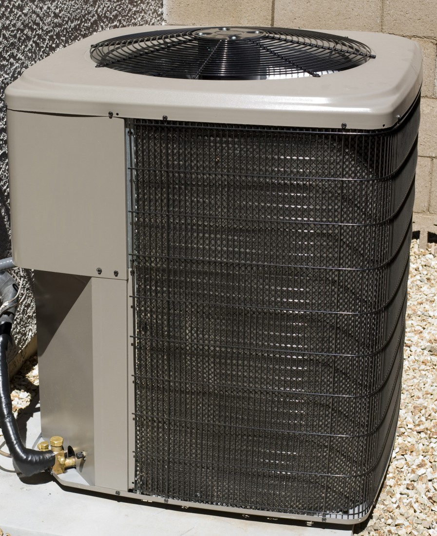 Air Condenser Coil : How to clean your air conditioner condenser